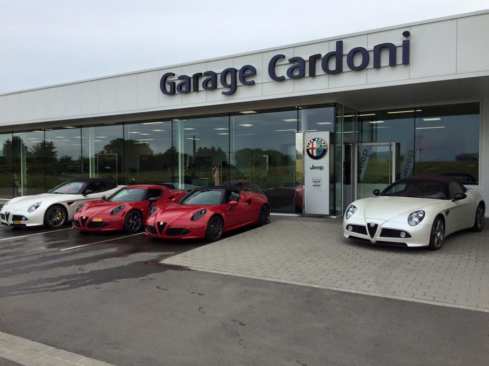 Garage cardoni for Garage jeep luxembourg