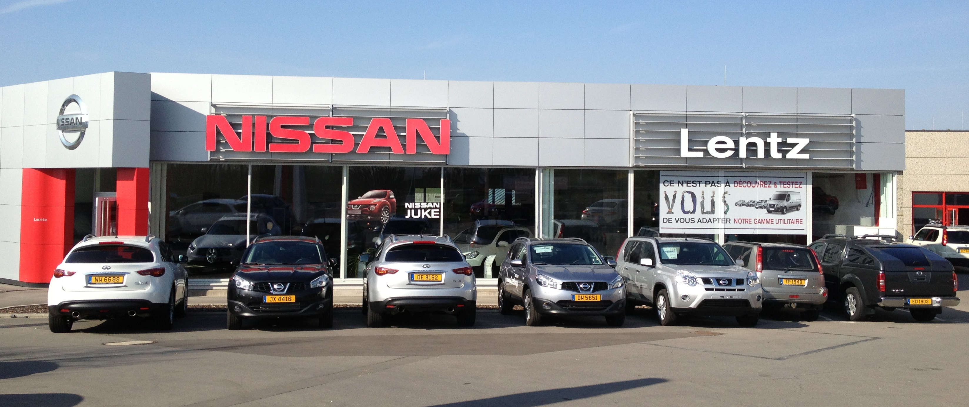 Nissan car avenue for Garage nissan marseille